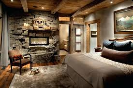 Rustic Bedroom Design Peace Ideas Lined With Wooden Ornaments Decorated Candles