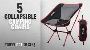 Top 5 Collapsible Camping Chairs [2018]: Ultralight Portable Camping  Chairs, Homgrace Lightweight Ideas Home Depot Folding Chairs For Your Presentations Or Fashion Collapsible Beach Chair Fishing Bbq Stool Camping Outdoor Fniture Helinox Savanna Highback Camp Moon Breathable Seat Vintage German Lbke Vono Tan Orange Rectangular Genuine Leather Sling Modernist Mid Century Modern Hlsta Loft Portable Table And Set Built In Or Hot Item Foldable Details About 2x Festival New Directors Alinium Pnic Director Navy Ever Advanced Oversized Padded Quad Arm Steel Frame High Back With Cup Holder Heavy Duty Supports 300 Lbs Amazoncom Goplus Swivel