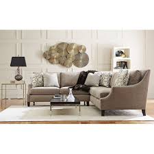 Marion Straw 2PC Sectional Bernhardt Star Furniture