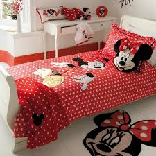 Bedroom Beautiful Mickey Mouse Bedroom With Red Bedroom And
