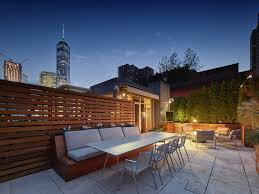 100 Tribeca Roof Scape Modern Home In Manhattan New York New