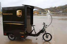UPS Deploys Delivery E-Bike In Downtown Pittsburgh (Pennsylvania ...