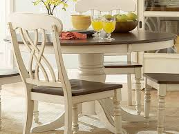 Round Dining Room Sets by Amazon Com Ohana Round Dining Table White Table U0026 Chair Sets