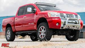 2004-2015 Nissan Titan 4-inch Suspension Lift Kit By Rough Country ... Chevygmc 23500 1012 Inch Lift Kit 12017 Lifted Trucks For Sale In Virginia Rocky Ridge Suspension Leveling Kits Ameraguard Truck Accsories Long Beach Ca Signal Hill Lakewood Amazoncom Rough Country 19430 35inch Rancho Tough Dog Ford F250 Suspensionlift Home Of Jacksonville 4x4 We Do Exhaust Work Fabrication Lift Pr 123 1112 Super Duty 8 4link Tcs Lift Kit 12018 Gm 2500hd 68 Stage 2 Cst Performance 2010 Chevrolet Silverado 1500 Lt 44 Crew Cab Supercharged Heavy Hell Stout Lifts With Soft Ride