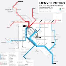 Learn to love the bus with a map of RTD s best routes