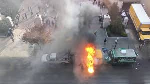 100 Truck Explosion Food Fire With YouTube