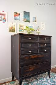 Target Black 4 Drawer Dresser by Helen Nichole Designs Dresser In Pitch Black Milk Paint