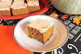 Pecan Pumpkin Bars Paula Deen by Frosted Pumpkin Bars With Spiced Buttercream Dairy Free Recipe