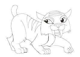 Monster High Pets Colouring Pages 11