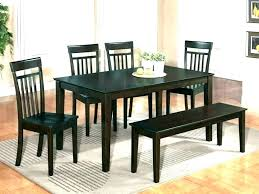 Dining Room Table With Benches For Bench Seat Kitchen