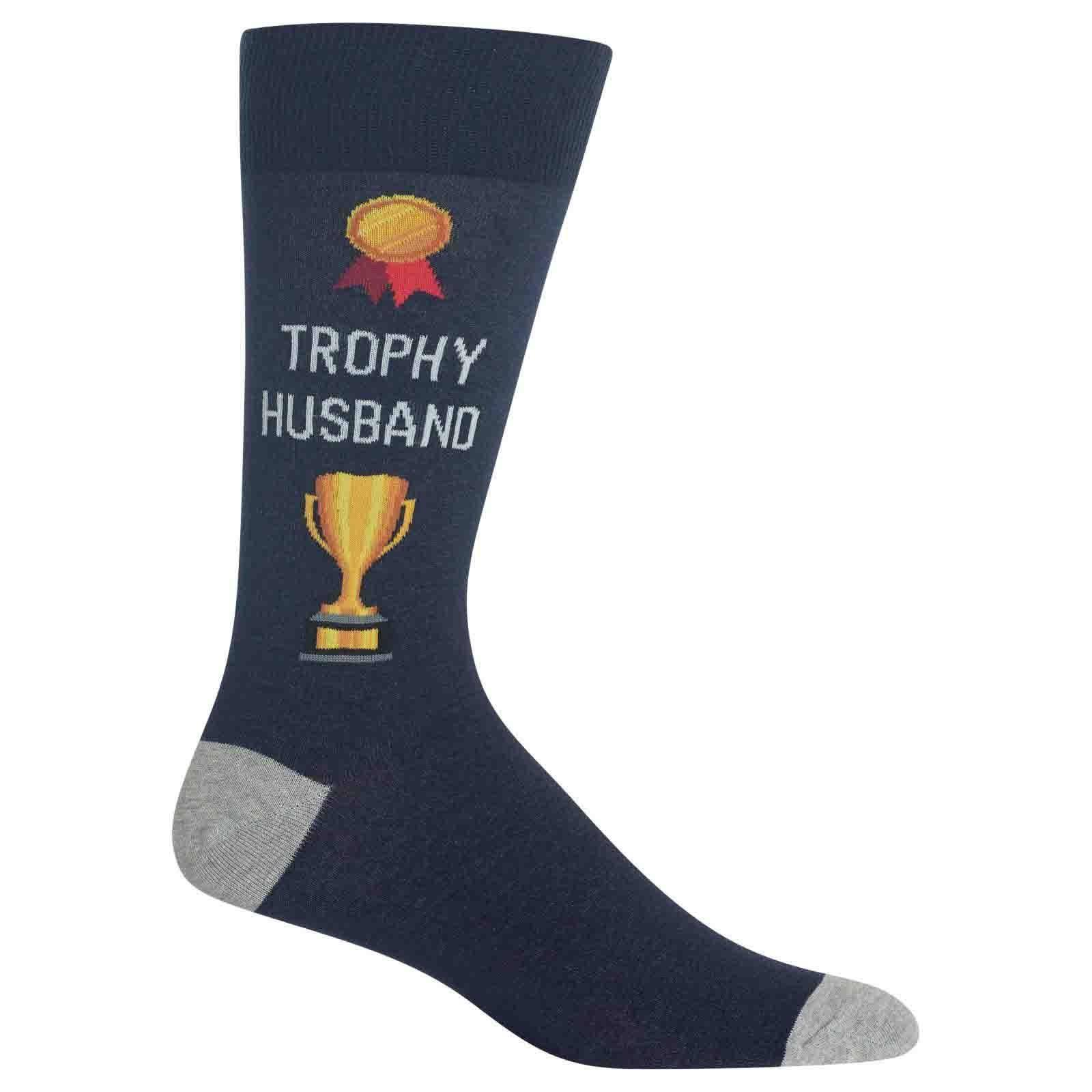 Hot Sox - Trophy Husband Crew Socks | Men's