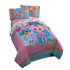 amazon com lalaloopsy twin comforter set includes comforter