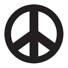 Black Peace Sign Temporary Tattoo Pack For Your Inner Hippie