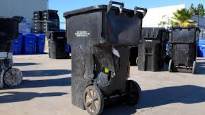 100 Game Truck San Diego Trashed Trash Cans Frustrate Residents NBC 7