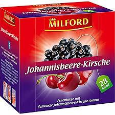 milford johannisbeere kirsche 28 x 2 00 g 6er pack 6 x 56 g