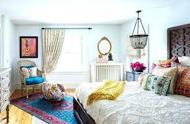 Blue Bohemian Bedroom Ideas Refined Chic Designs 5 And White