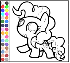 Coloring Book Of My Little Pony Baby Pinkie Pie