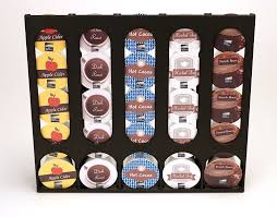 Amazon The Cupboard Caddy Compatible With Keurig K Cup Size Pods Premium Storage Dispenser Holder Stand Kitchen Dining