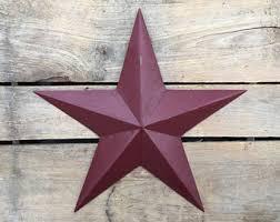 11 Rustic Metal Star Hanging Barn Christmas Wall Decor