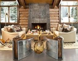 40 Awesome Rustic Living Room Decorating Ideas Decoholic Pertaining To Decor Designs 15