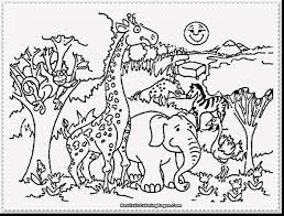 Incredible Zoo Animals Coloring Pages With Free And Animal Farm