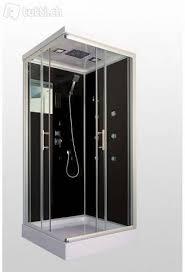 neu wave s 90x80cm dusche badmöbel duschkabine radio licht