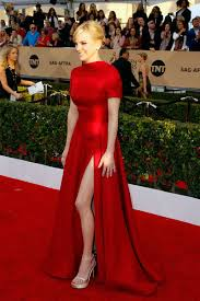 Evening Dresses Red Carpet by Anna Faris Formal Red Carpet Dress Sag Awards 2016 Short Sleeves