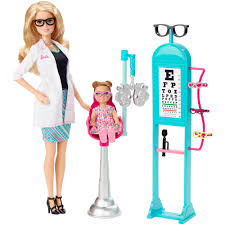 Play Kitchen Sets Walmart by Barbie Careers Eye Doctor Walmart Com