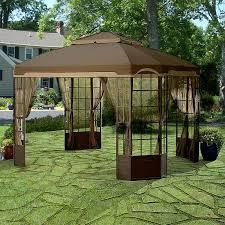sears kmart bay window gazebo replacement canopy velcro garden winds