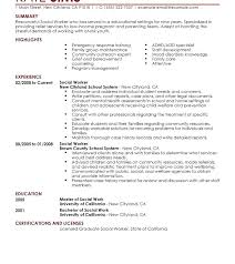 Volunteer Resume Summary Examples As Well Sample New Of Resumes Templates For