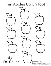 Fruits Coloring Pages For Preschoolers Apple Colouring Page A Is