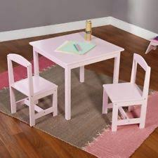 pink kids and teens play tables chairs ebay