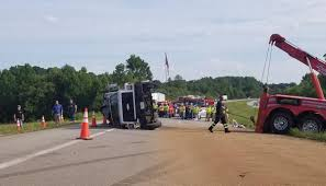 Overturned Septic-tank Cleaning Truck Snarls Traffic For Hours In ...
