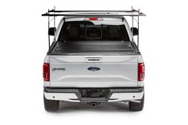F150 Bed Dimensions by 2015 2018 Ford F 150 Hard Folding Tonneau Cover Rack Combo