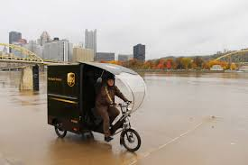 100 Ups Truck Hours UPS Kicks Off YearRound ETrike Delivery Service In Pittsburgh