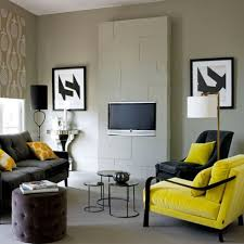 Grey Yellow And Turquoise Living Room by Living Room Comely Gray Themed Living Room Gray And Yellow