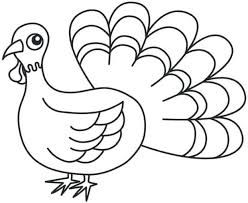 Printable Free Coloring Sheets Thanksgiving Turkey Girls Boys Feather Pages Christian Pag Medium Size