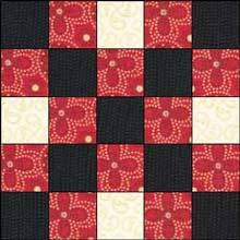 Double Irish Chain Quilt Pattern Easy Quilt Block Easy Quilt Pattern