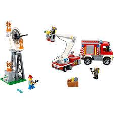 100 Lego Fire Truck Games LEGO City Utility 60111 Toys Zavvi