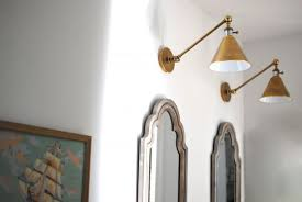 swing arm wall l wired home decorations ideas lights
