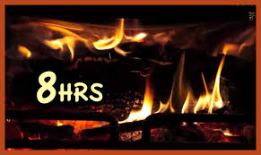 8 Hrs Beast Fireplace Realistic