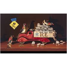Icy-Conditions-penguin-ice-truck -print-richard-hall_578b7bcc-6fa2-4281-8e37-f811dd09df28.jpg?v=1473729850 Dropping Like Flies People Are Quitting Or Falling Behind Because Ligcoinn Turnip Truck Productions Pinterest Donald Rumsfeld Quote I Suppose The Implication Of That Is Who Fell Off Just Fell Turnip Truck Visual Pun Pating By Richard Hall Hornswoggled Welcome To Gerald Missourah Town Did Just The Right Pig Buying A Small Business Othalafehus Blog 21 Superboats Still Being Made Page 2 Offshoreonlycom Msionaccompshedmygijoeflagrichardhastilllifejpgv1475792401