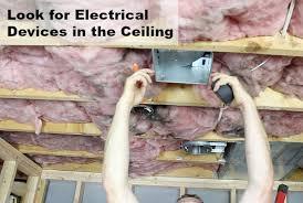 hanging drywall on ceiling tips how to hang drywall on ceilings home repair tutor