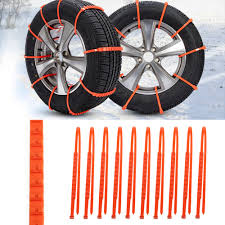 Universal Anti-skid Snow Chains For Cars/ Trucks - 10PCS/ Set - Free ...