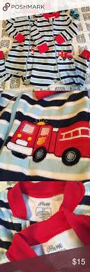 2T Fire Truck Pajamas By Little Me | Fire Trucks, Pyjamas And Cotton
