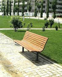 bench for outdoors reclaimed wood outdoor woodfree park design