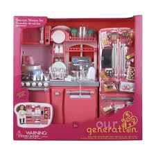 Kitchen Set Doll Playtime By Eimmie 18 Inch Doll Furniture Kitchen