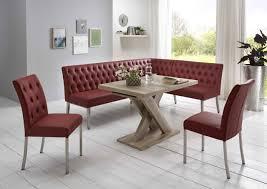 moderne eckbankgruppe wildeiche dekor eckbank 2 stühle und esstisch mit sy