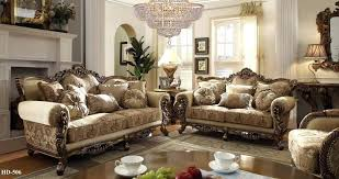Wonderful Traditional Living Room Furniture With Green Sofa Sets