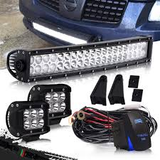 100 Light Bar Truck Amazoncom DOT 2022 Inch Curved Led Combo Grill Bumper